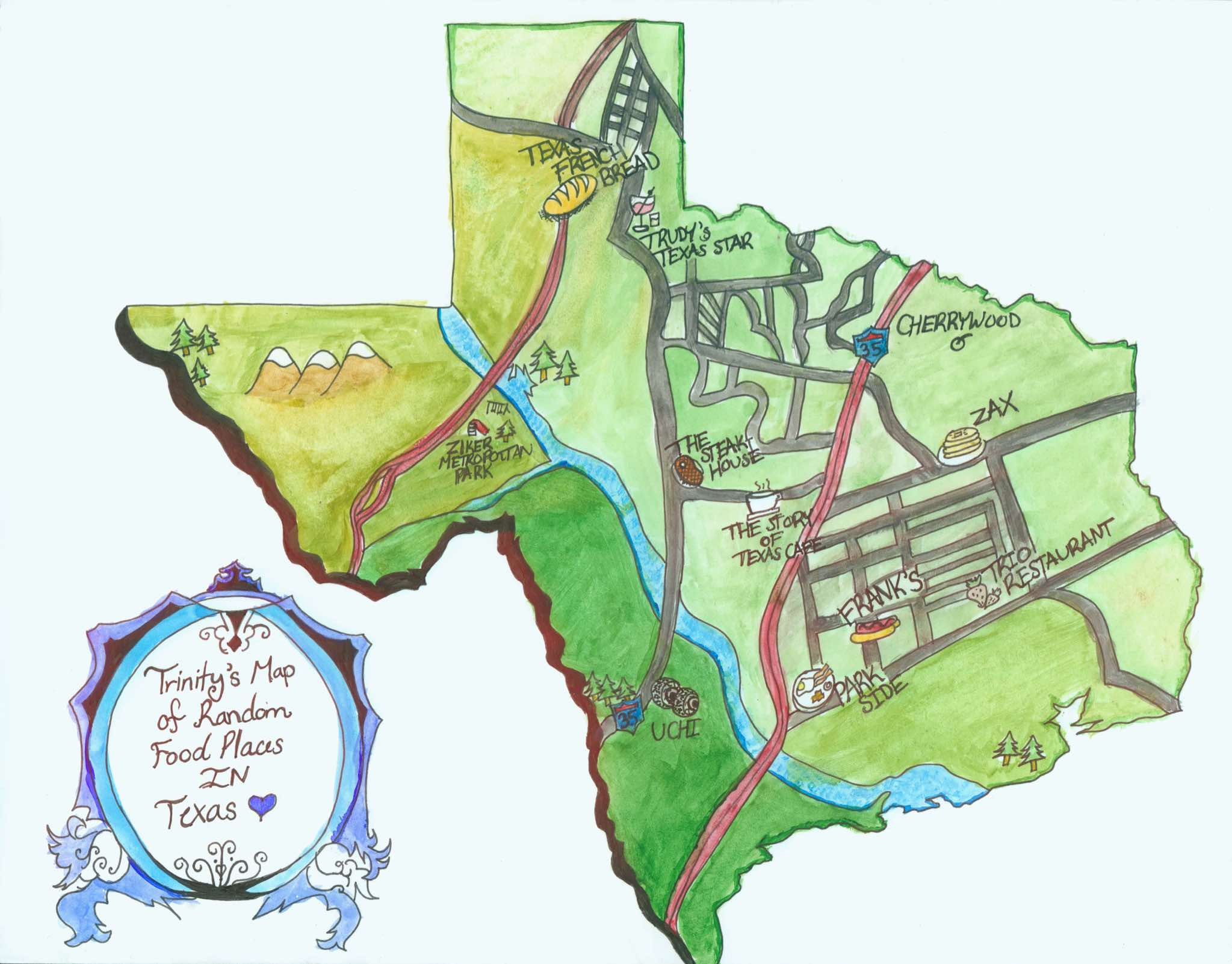 Thematic Map Of Texas.Jghs 2016 2017 Thematic Maps